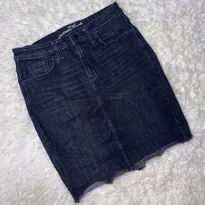 Universal Thread Grey Denim Mini Skirt